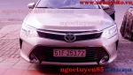 CAMRY 2015 THAY BÓNG XENON PHILIPS 6000K GERMANY, LUMILEDS 45W 4500LM CHO FA VFA GẦM