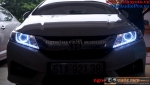 HONDA CITY 2015 ĐỘ BI XENON AUDI Q5, ANGEL EYES FULL LED 2015, MÍ LED AUDI A8 2015