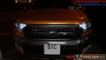 FORD RANGER NEW 2015 WILDTRAK LÊN BÓNG XENON PHILIPS GERMANY VÀ LUMILEDS