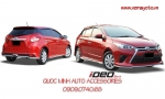 FULL BỘ BODY KITS CHO NEW YARIS