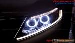 KIA SORENTO 2015 ĐỘ BI XENON, MÍ LED, VÒNG ANGEL EYES FULL LED