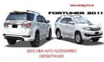 FULL BỘ BODY KITS CHO FORTUNER SPORT